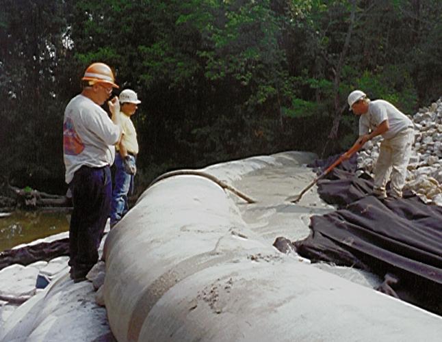 Fabriform Concrete Bags